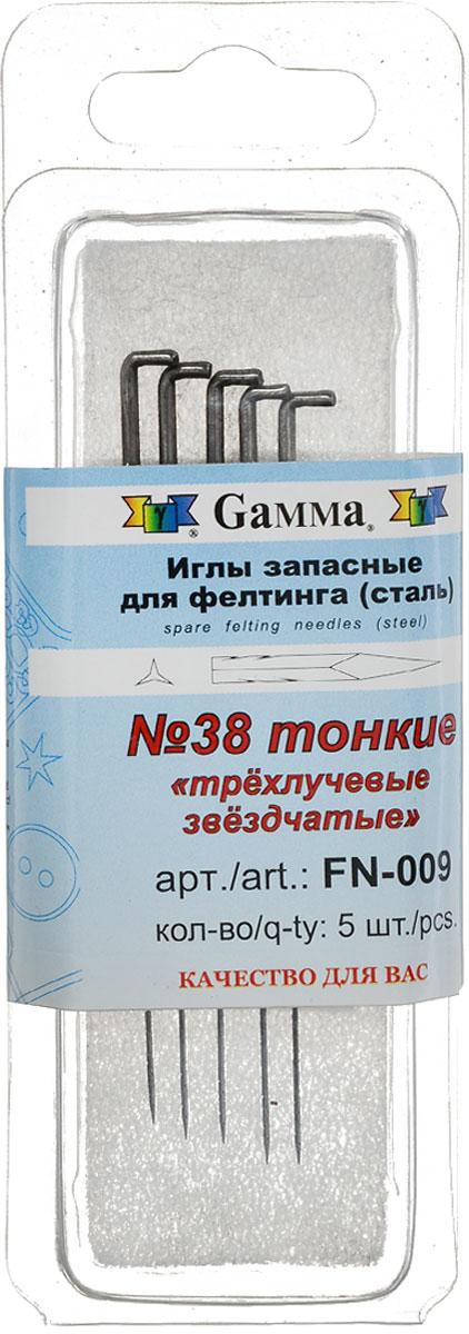 Набор игл для фелтинга Gamma