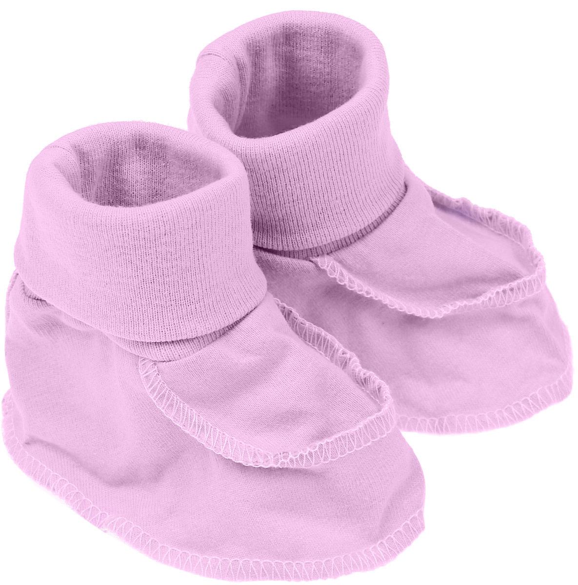 Пинетки Чудесные одежки, цвет: розовый. 5902. Размер 62