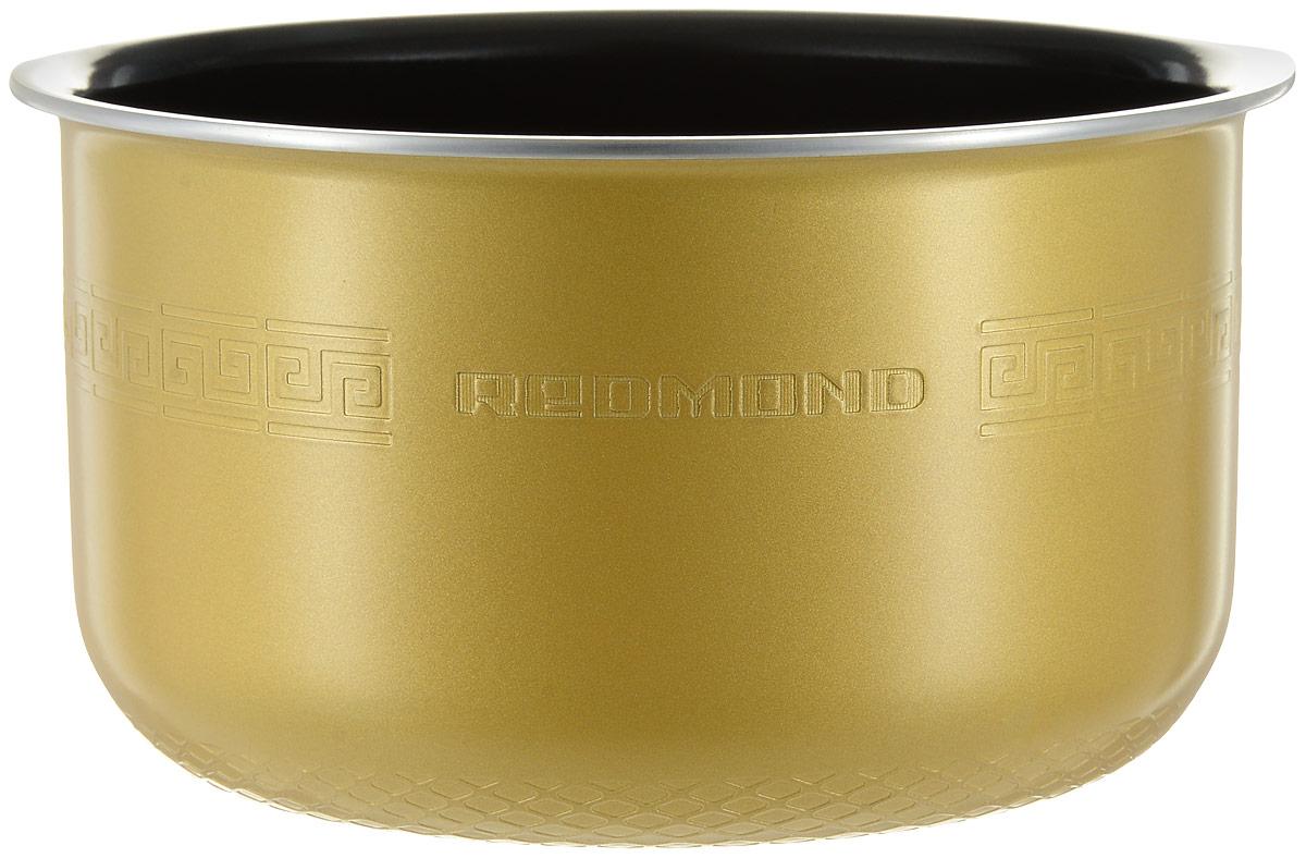 Redmond RB-C422 чаша для мультиваркиRB-C422Redmond RB-C422 - 4-литровая чаша с керамическим покрытием от компании ANATO (Корея) прошла самыесерьезные испытания на прочность и качество. Изготовленное из экологичных материалов по самым передовымтехнологиям, керамическое покрытие более устойчиво к механическим воздействиям, чем тефлоновое или егоаналоги. Пища, приготавливаемая в чаше, не пригорает, равномерно прожаривается и тушится, не теряя своихвкусовых и полезных качеств. Емкость можно также успешно использовать для приготовления блюд в духовомшкафу. Мыть чашу можно как под краном, так и в посудомоечной машине.Высота чаши: 130 мм Диаметр чаши: 210 мм (без обода)