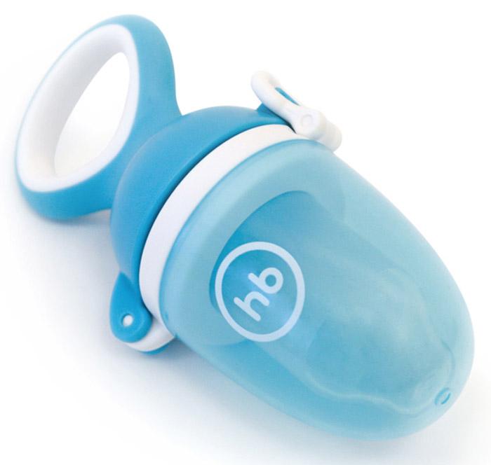 Happy Baby Ниблер с сеточкой Nibbler Twist цвет голубой ниблер happy baby 2 0 с силиконовой сеточкой yellow 15035