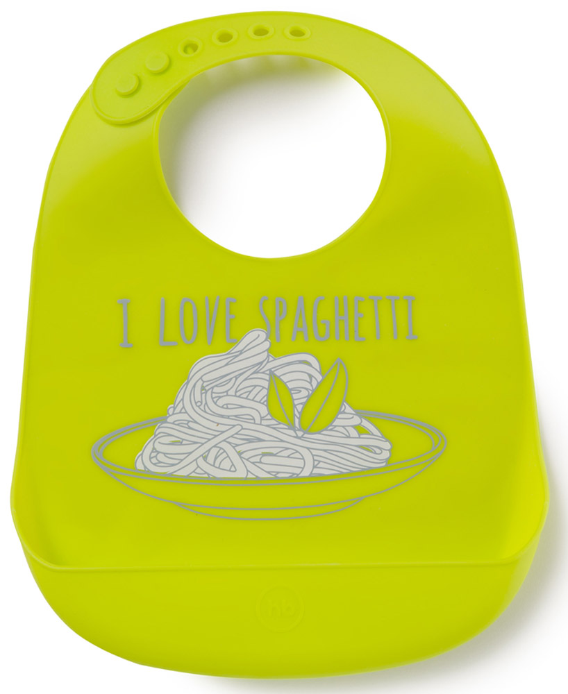 купить Happy Baby Нагрудник Bib Pocket цвет салатовый недорого