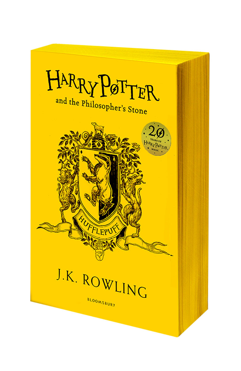 Harry Potter and the Philosopher's Stone - Hufflepuff Edition harry potter the chamber of secrets
