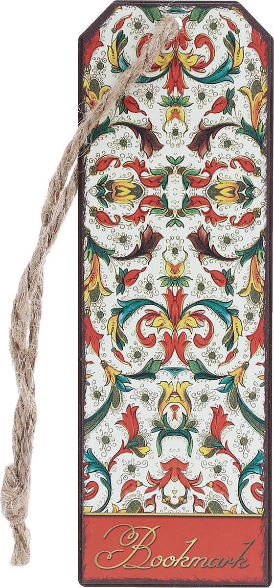 Magic Home Закладка декоративная для книг Цветочный узор