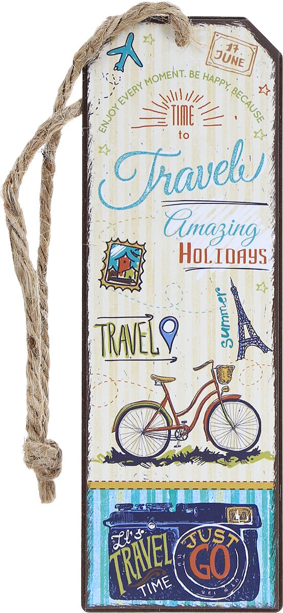 Magic Home Закладка декоративная для книг Тревел байк