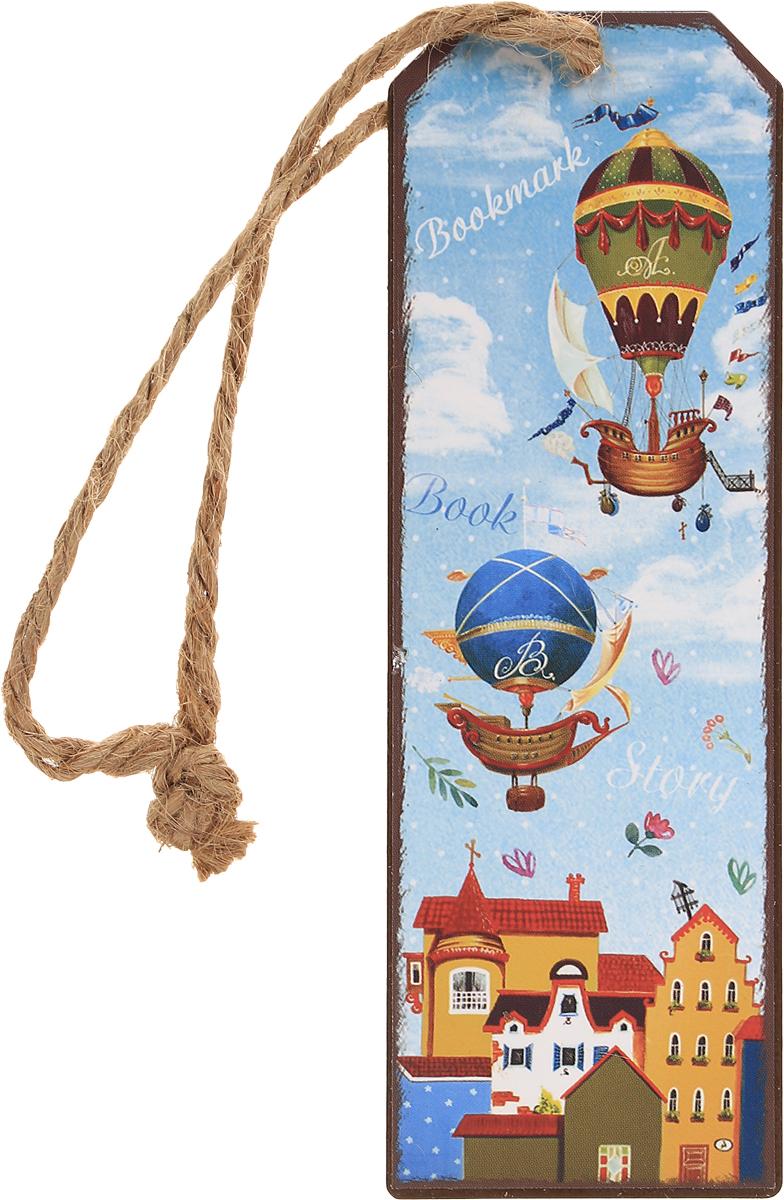 Magic Home Закладка декоративная для книг Дирижабли в лето -  Закладки для книг