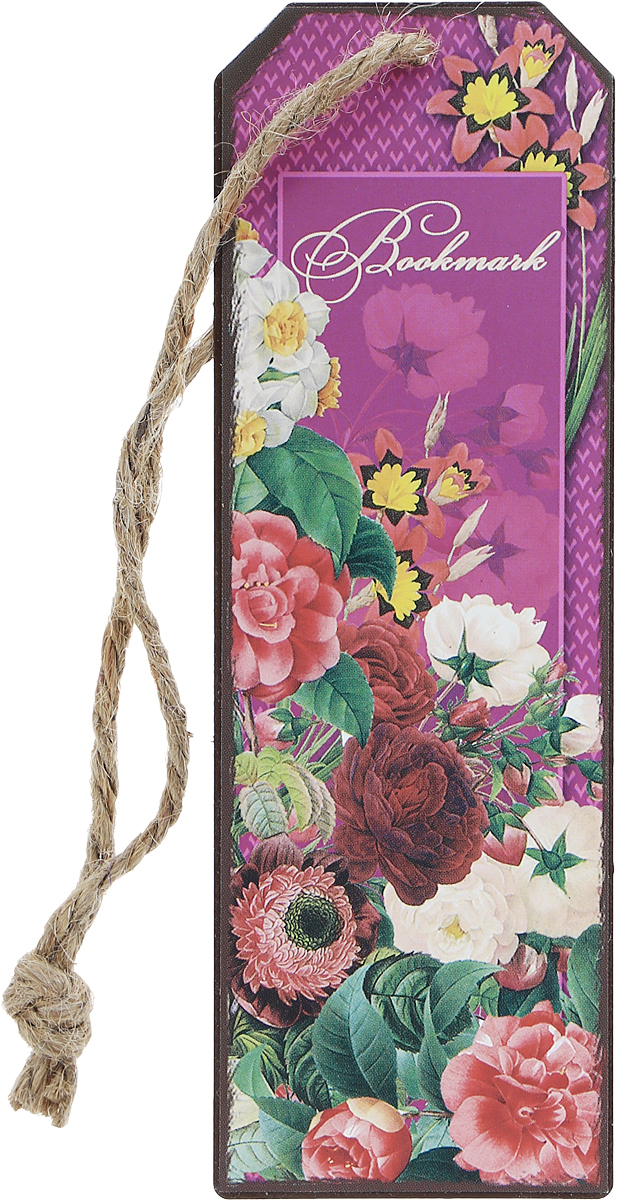 Magic Home Закладка декоративная для книг Цветочная гирлянда