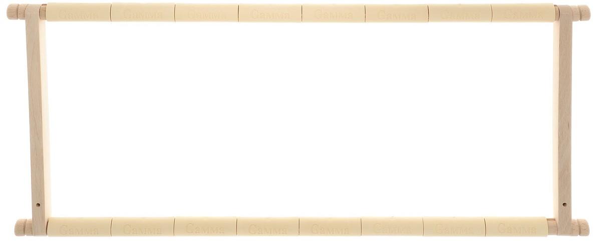 """Пяльцы-рамка """"Gamma"""", с клипсой, 61 х 30 см"""