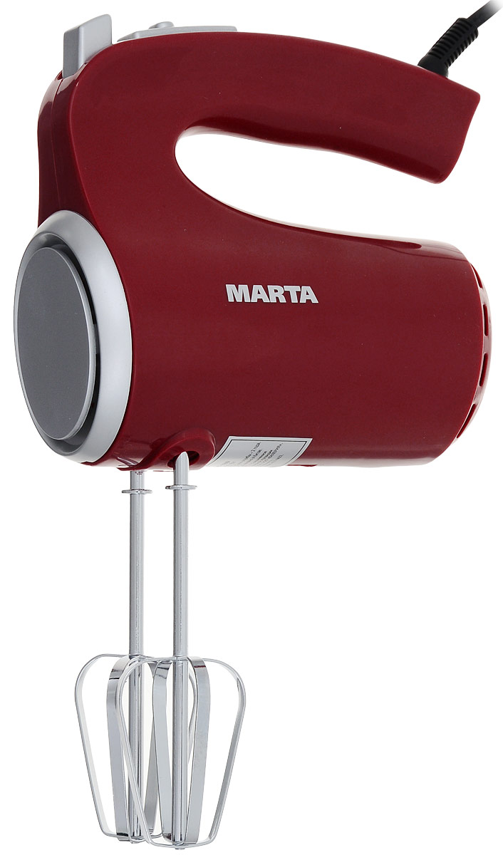 Marta MT-1509, Dark Red миксер marta mt 1753 red garnet бутербродница