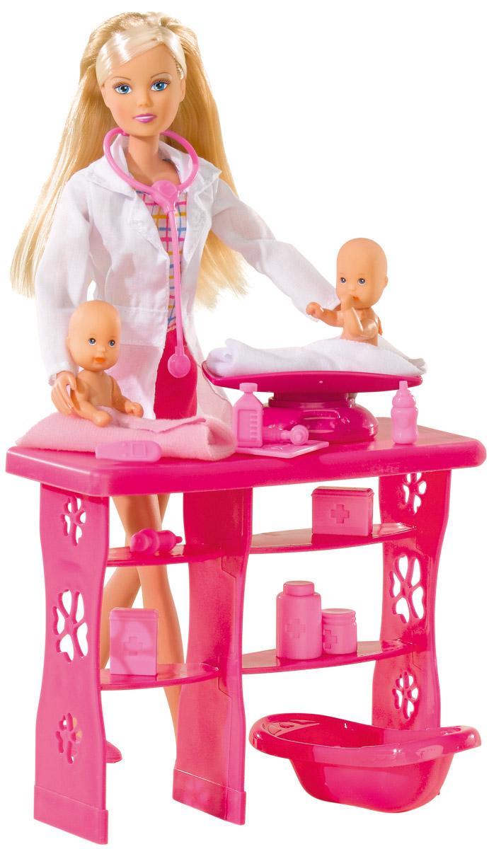 Simba Игровой набор с куклой Штеффи детский доктор simba игровой набор с мини куклой evi love fairy carriage