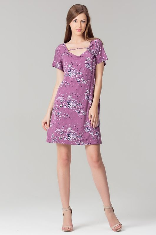 Туника женская Tesoro, цвет: кашемировая роза. 401Т1. Размер 54 женская туника платье дана размер 54