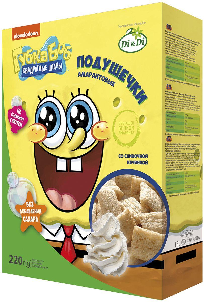 Губка Боб подушечки амарантовые со сливочной начинкой, витаминизированные, 220 г рюкзак детский gulliver губка боб s230049 t