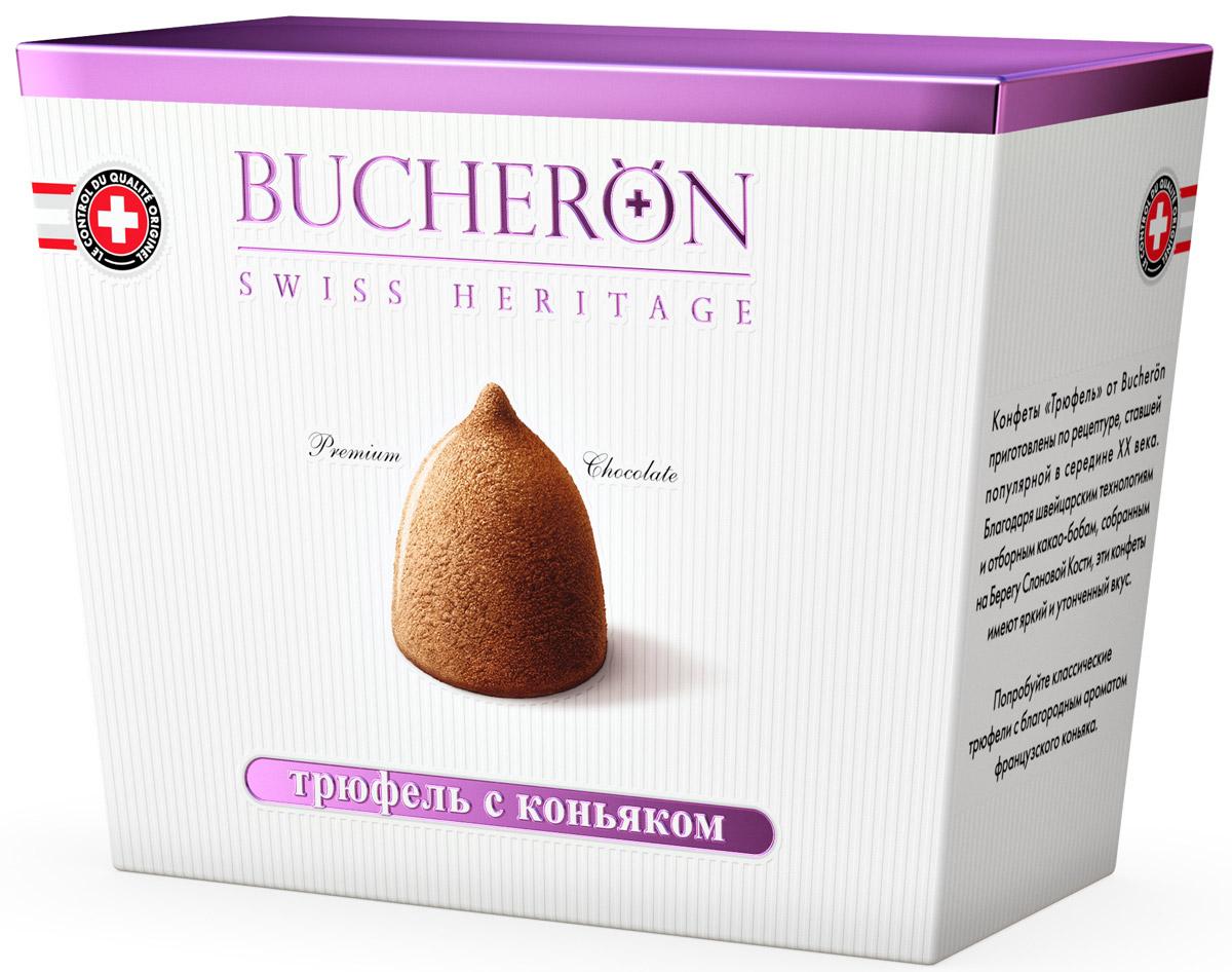 Bucheron конфеты Трюфель с коньяком, 175 г рузком каша рисовая со свининой 325 г