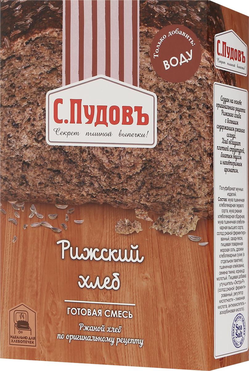 Пудовъ рижский хлеб, 500 г пудовъ мука гречневая 500 г