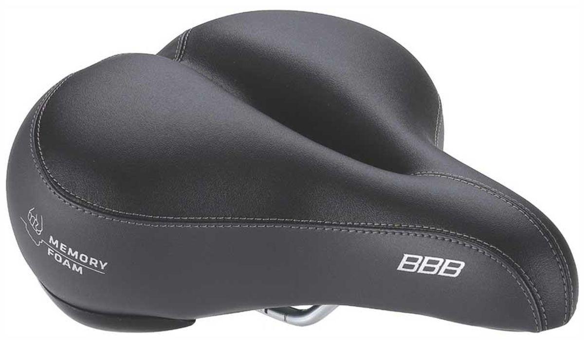 Седло велосипедное BBB SoftShape Memory Foam Anatomic, цвет: черныйBSD-24Велосипедное число BBB SoftShape Memory Foam Anatomic отлично подойдет для комфортной езды. Анатомический дизайн. Верх выполнен из синтетической кожи, внутри ультра мягкая пена. Высококачественная прошивка обеспечивает седлу долгий срок эксплуатации. Рамка полированная.
