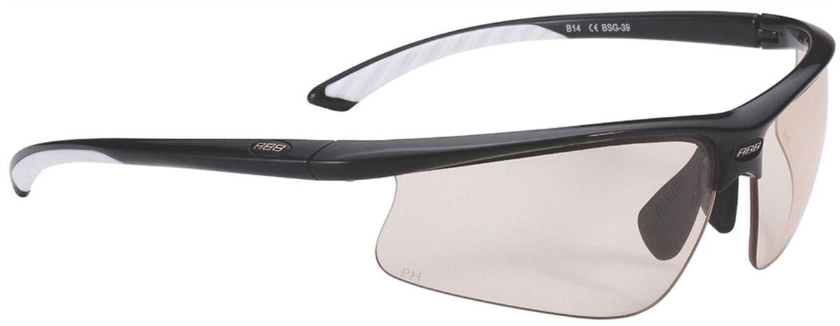 Очки солнцезащитные BBB Winner PC Smoke, цвет: черный, белый линзы для очков bbb линзы