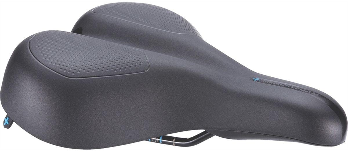 Седло велосипедное BBB ComfortPlus, цвет: черный, 21 х 27 смBSD-101Седло BBB ComfortPlus создано для всех велосипедистов, которые хотят забыть о том, что такое натертости при спокойной езде. Анатомический вырез и заниженный нос обеспечивают равномерное распределение давления в чувствительных областях. Подкладка из пены тройной плотности с эффектом памяти принимает форму тела и гарантирует исключительный комфорт. Седло подойдет для городских велосипедов и расслабленного катания. Подходит как для мужчин, так и для женщин.Особенности:Прочные рельсы со шкалой для точной регулировки.Полипропиленовый каркас.Пена тройной плотности: высокоплотное основание Superlight и мягкая пена с эффектом памяти в верхнем слое.Прочное синтетическое покрытие.Водонепроницаемое.
