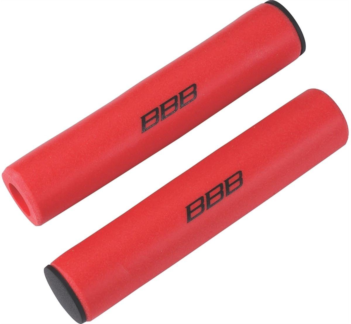 Грипсы BBB Sticky, цвет: красный, 13 см, 2 шт. BHG-34BHG-34Легкие и комфортные грипсы BBB Sticky имеют вибро- и ударопоглощающими свойства. Они предназначены для более удобного управления велосипедом. Силиконовое покрытие обеспечивает прекрасное сцепление с перчатками.Заглушки руля в комплекте.Длина грипс: 13 см.Вес: 49 г.