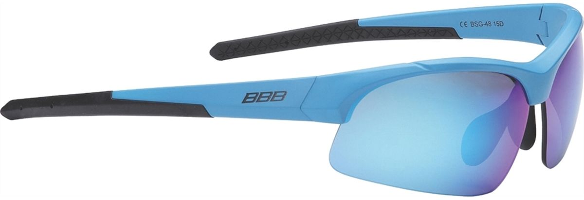Очки солнцезащитные BBB Impress Small PC Smoke Blue Lenses, цвет: синий fuse lenses for bolle vibe brown tint replacement lenses