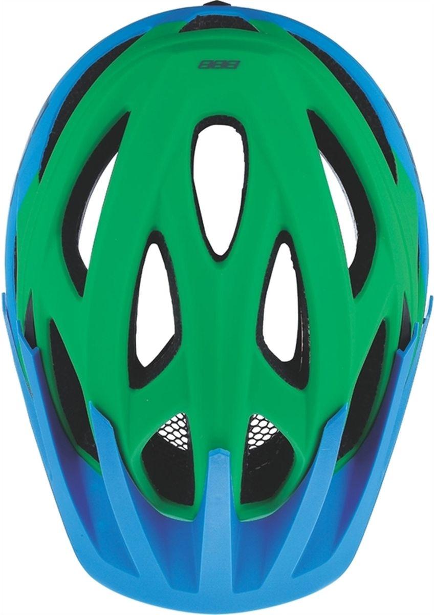 """BBB """"Varallo"""" - это настоящий шлем для MTB. Регулируемый козырек защищает ваши глаза от солнца и грязи, а 18 вентиляционных отверстий обеспечивают комфорт.   Особенности:   Шлем для маунтинбайка (all-mountain). Интегрированная конструкция. 18 вентиляционных отверстий. Отверстия для вентиляции в задней части шлема для оптимального распределения потоков воздуха. Защитная сетка от насекомых в вентиляционных отверстиях. Настраиваемые ремешки для максимально комфортной посадки. Простая в использовании система настройки TwistClose, можно настроить шлем одной рукой. Съемные мягкие накладки с антибактериальными свойствами и возможностью стирки. Съемный козырек. Светоотражающие наклейки на задней части шлема. Обхват головы: 58-61,5 см.    Гид по велоаксессуарам. Статья OZON Гид"""
