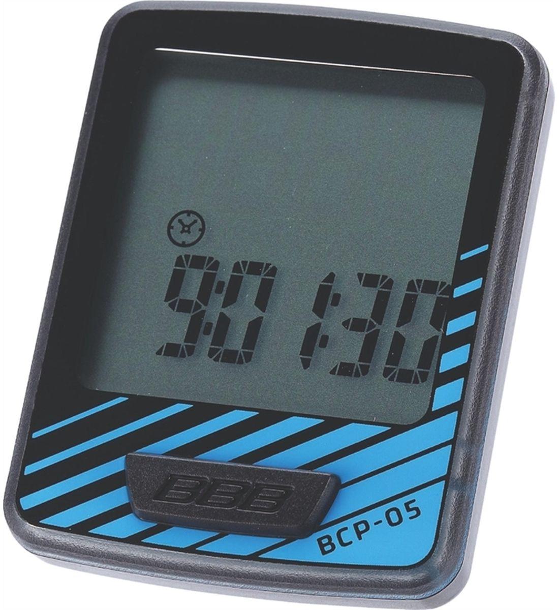 Велокомпьютер BBB DashBoard, цвет: черный, синий, 7 функций