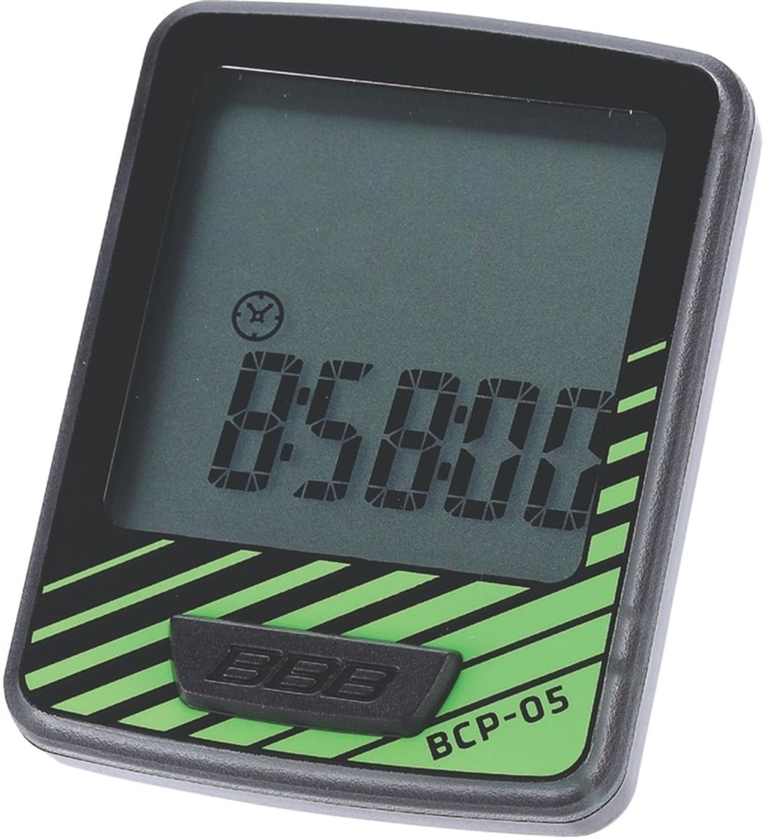 Велокомпьютер BBB DashBoard, цвет: черный, зеленый, 7 функцийBCP-05Велокомпьютер BBB DashBoard стал, в своем роде, образцом для подражания. Появившись как простой и небольшой велокомпьютер с большим и легкочитаемым экраном, он эволюционировал в любимый прибор велосипедистов, которым нужна простая в использовании вещь без тысячи лишних функций. Общий размер велокомпьютера имеет небольшой размер за счет верхней части корпуса. Размер экрана 32 х 32 мм, позволяющие легко считывать информацию. Управление одной кнопкой.Функции:Текущая скоростьРасстояние поездкиОдометрЧасыАвтоматический переход функцийАвто старт/стопИндикатор низкого заряда батареи.Особенности:Легко читаемый полноразмерный дисплей.Удобное управление с помощью одной кнопки.Компьютер может быть установлен на руле и выносе.Водонепроницаемый корпус.Батарейка в комплекте.