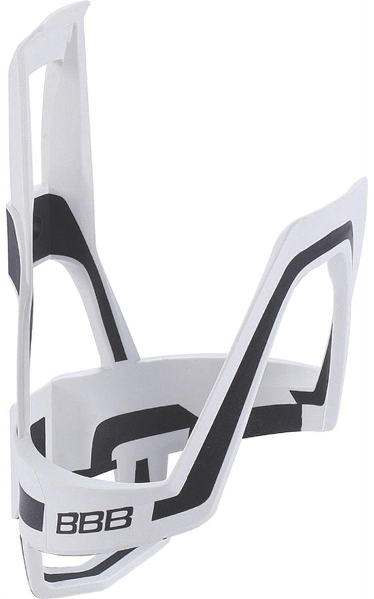 Флягодержатель велосипедный BBB DualCage, цвет: белый, черный