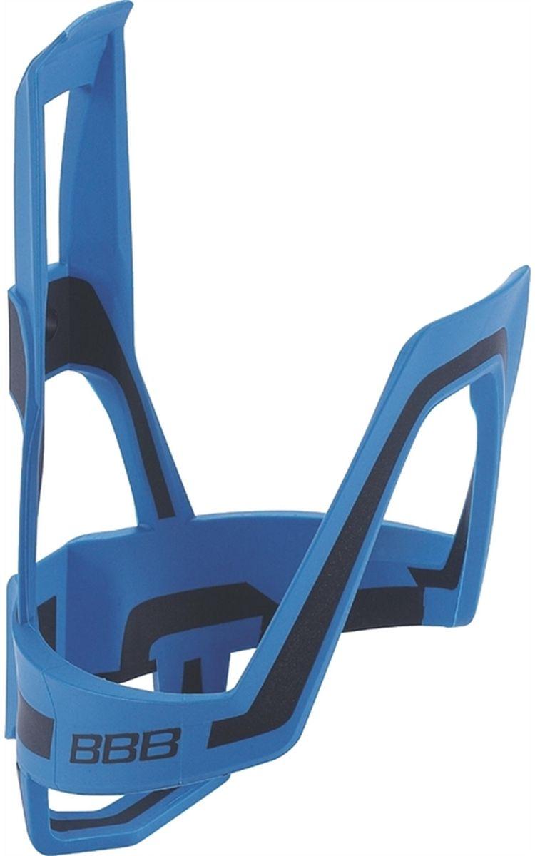 Флягодержатель велосипедный BBB DualCage, цвет: синий, черный