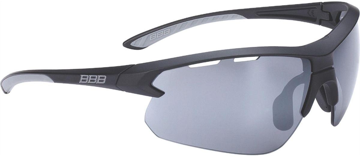 Очки солнцезащитные BBB Impulse Black Rubber Temple Tips PC, цвет: черный
