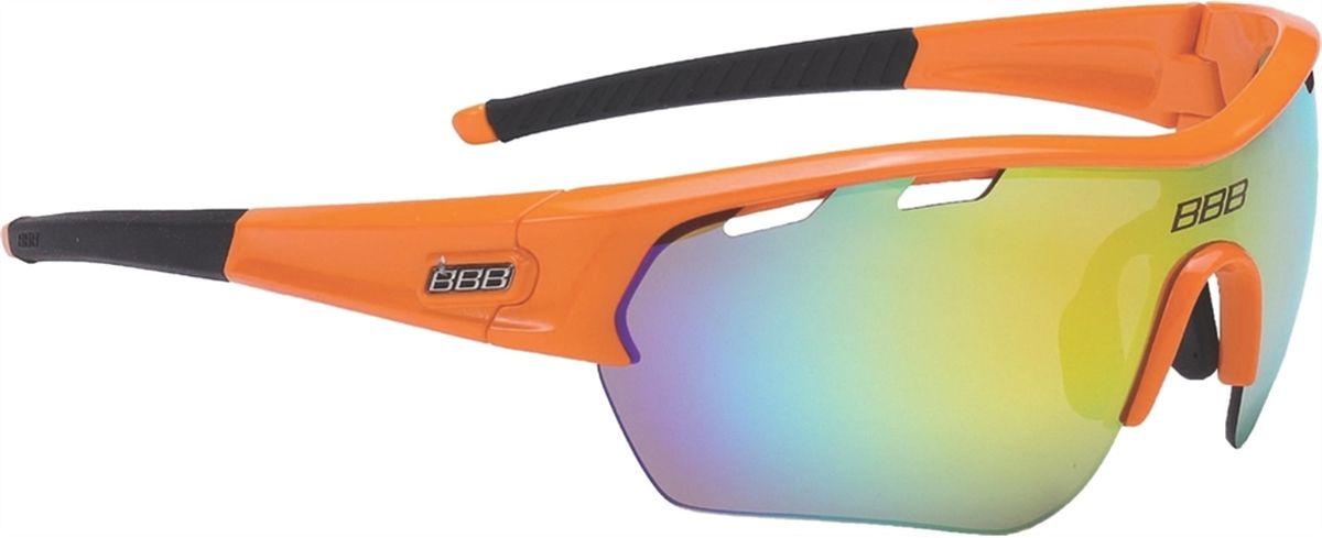 Очки солнцезащитные BBB Select XL MLC Orange XL Lens Black Tips, цвет: оранжевый