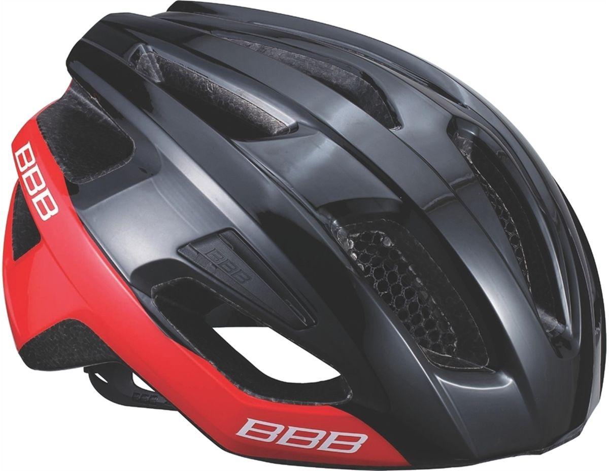 Шлем летний BBB Kite, цвет: черный, красный. Размер LBHE-29Если вы в поисках по-настоящему универсального шлема, то Kite - именно то, что нужно. Продуманная конструкция со съёмным козырьком предельно функциональна. Катаетесь ли вы по шоссе, или по трейлам - с Kite вы всегда в безопасности. Низкопрофильная конструкция обеспечивает дополнительную защиту наиболее уязвимых участков головы. Поликарбонатная оболочка обеспечивает наилучшую защиту. Основой для комфортной и, при этом, плотной посадки послужила легендарная hi-end модель Icarus. Kite - это наша лучшая разработка, одинаково хорошо подходящая как для шоссе, так и для MTB.Интегрированная конструкция.14 вентиляционных отверстий.Отверстия для вентиляции в задней части шлема для оптимального распределения потоков воздуха.Сетка для защиты от залетающих в шлем насекомых.Настраиваемые ремешки для максимально комфортной посадки.Простая в использовании система настройки TwistClose.Съёмный козырёк со скрытым креплением.Съемные мягкие накладки с антибактериальными свойствами и возможностью стирки.Светоотражающие наклейки на задней части шлема.Размеры: M (55-58 см) и L (58-62 см).