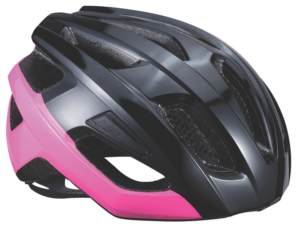 """Шлем летний BBB """"Kite"""", цвет: черный, розовый. Размер M"""
