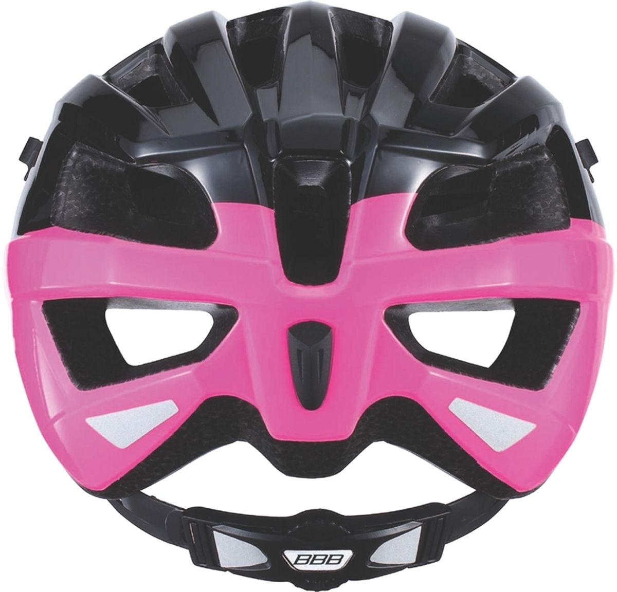 """Если вы в поисках по-настоящему универсального шлема, то BBB """"Kite"""" - именно то, что нужно. Продуманная конструкция предельно   функциональна. Катаетесь ли вы по шоссе, или по трейлам - с BBB """"Kite"""" вы всегда в безопасности. Низкопрофильная конструкция обеспечивает   дополнительную защиту наиболее уязвимых участков головы. Поликарбонатная оболочка обеспечивает наилучшую защиту.     Интегрированная конструкция. 14 вентиляционных отверстий. Отверстия для вентиляции в задней части шлема для оптимального распределения потоков воздуха. Сетка для защиты от залетающих в шлем насекомых. Настраиваемые ремешки для максимально комфортной посадки. Простая в использовании система настройки TwistClose. Съёмный козырёк со скрытым креплением. Съемные мягкие накладки с антибактериальными свойствами и возможностью стирки. Светоотражающие наклейки на задней части шлема. Обхват головы: 55-58 см.      Гид по велоаксессуарам. Статья OZON Гид"""