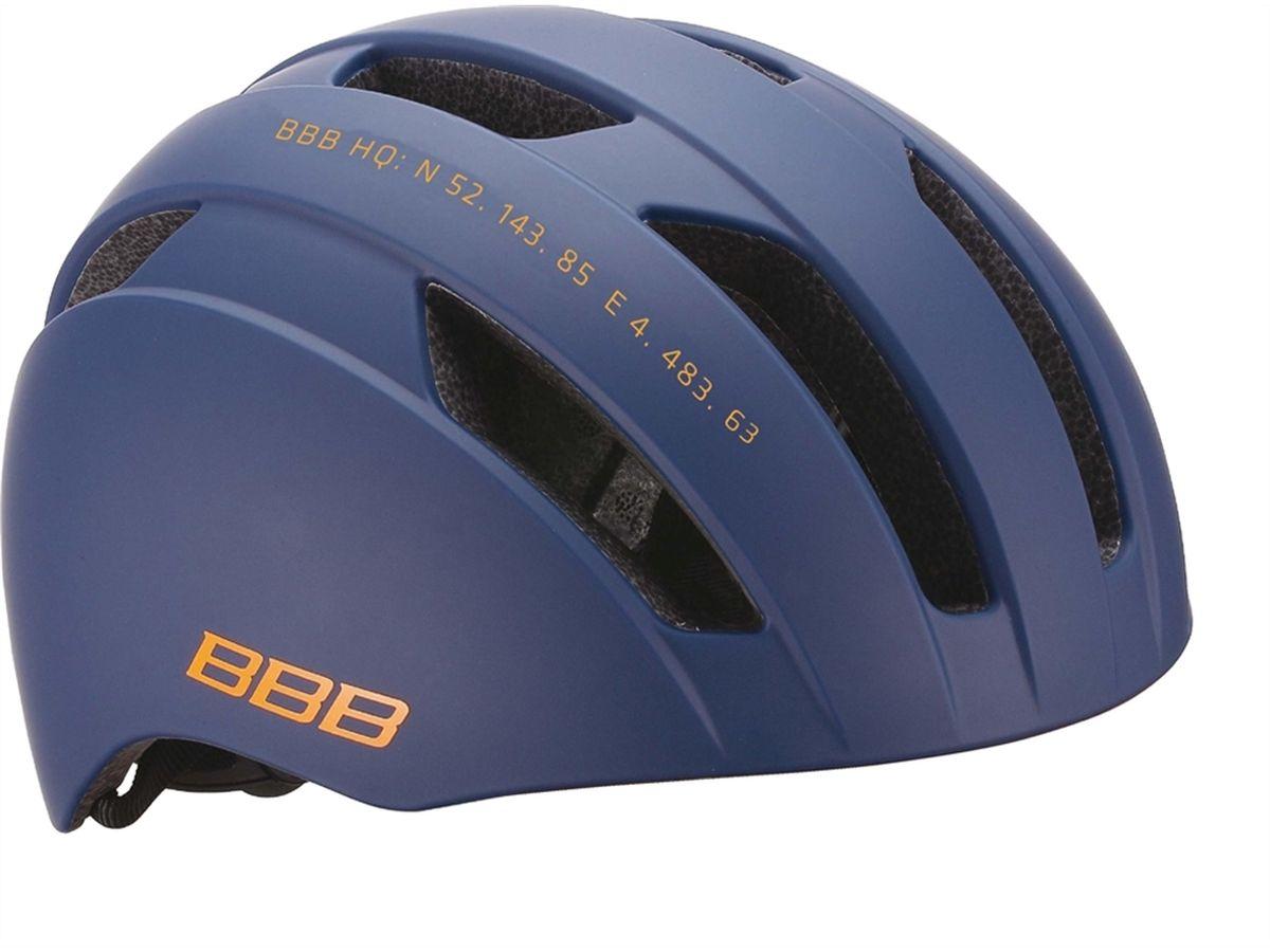Шлем летний BBB Metro, цвет: синий. Размер L