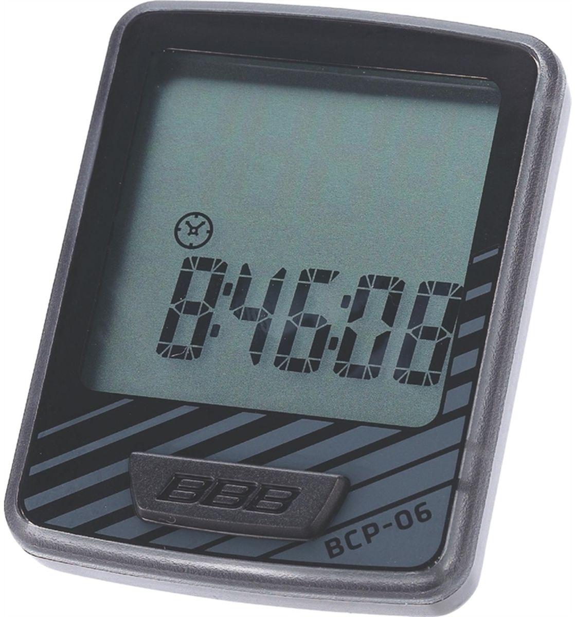 Велокомпьютер BBB DashBoard , цвет: черный, серый, 10 функций