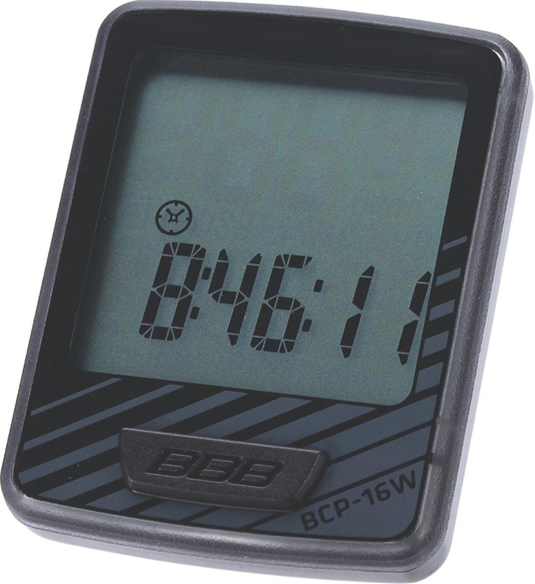 Велокомпьютер BBB DashBoard , цвет: черный, серый, 12 функций