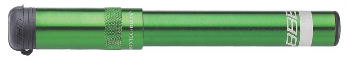 Насос велосипедный BBB EasyRoad, цвет: зеленый, 185 ммBMP-49Когда вы встали на дороге со спущенным колесом, вам потребуется надежный и простой в использовании мининасос BBB EasyRoad. Благодарявыдвижному шлангу он очень легко надевается на любой ниппель. Головка TwistHead навинчивается на вело, автониппели и ниппели Данлоп. Всеэти продуманные решения находятся в стильном алюминиевом анодированном корпусе. BBB EasyRoad может спасти ваш день, если выпрокололись. Особенности: Легкий мини-насос с выдвижным шлангом из алюминия 6063 T6. Система блокировки предотвращает самопроизвольное выдвигание ручки во время езды. Насадка TwistHead: уникальный клапан подходит как под ниппели Преста, так и Шрэдер (велониппель и автониппель соответственно) иДанлоп.Заглушка клапана защищает его от грязи. Компактная конструкция и большой рабочий объем. Крепеж на велосипед в комплекте. Давление до 9 bar/130 psi. Длина: 185 мм.