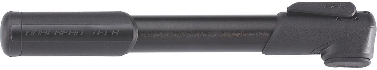Насос велосипедный BBB WindRush S, цвет: черный, 250 ммBMP-55Насос велосипедный BBB WindRush S имеет легкий корпус, выполненный из алюминия 6063 T6. Металлический плунжер обеспечивает быстрое накачивание большого объема воздуха. Насадка DualHead с фиксатором под большой палец. Колпачок предохраняет ниппели от загрязнения. Подходит для ниппелей Presta, Schrader и Dunlop.Давление до 7 bar/100 psi.Длина: 250 мм.