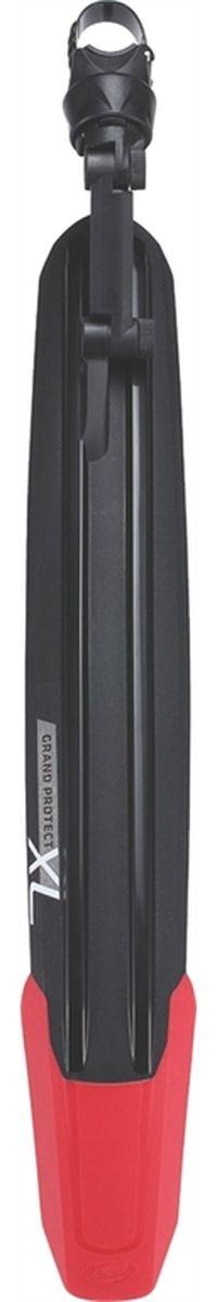 """Заднее крыло BBB """"GrandProtect MTB"""" с брызговиками TPR выполнено из двухцветного композитного материала. Специально разработанная   геометрия обеспечивает обширную область защиты от воды и грязи. Система быстрой установки RingFix.  В комплекте наклейка для защиты подседельного штыря.Подходит для 27,5 и 29-дюймовых байков.Подходит для подседельных штырей диаметром от 25 до 34,9 мм.    Гид по велоаксессуарам. Статья OZON Гид"""