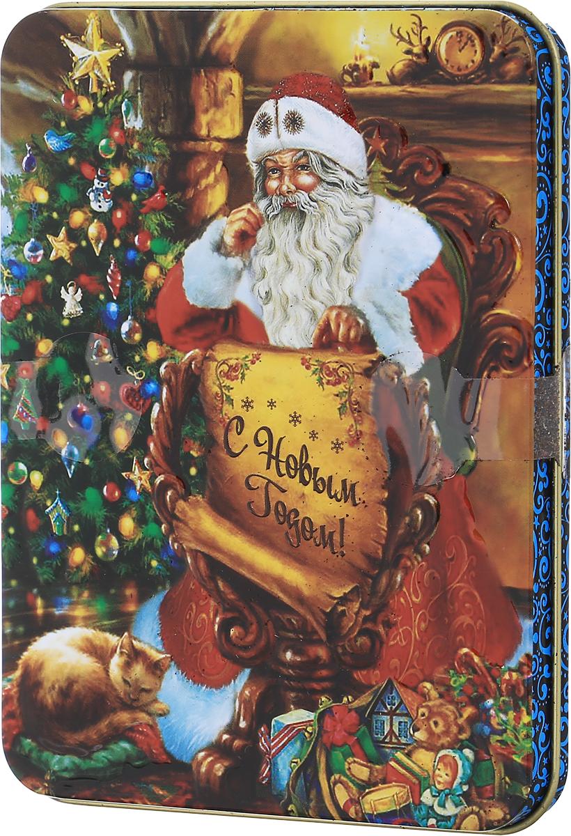 Дольче Вита Письмо Деда мороза черный листовой чай, 60 г
