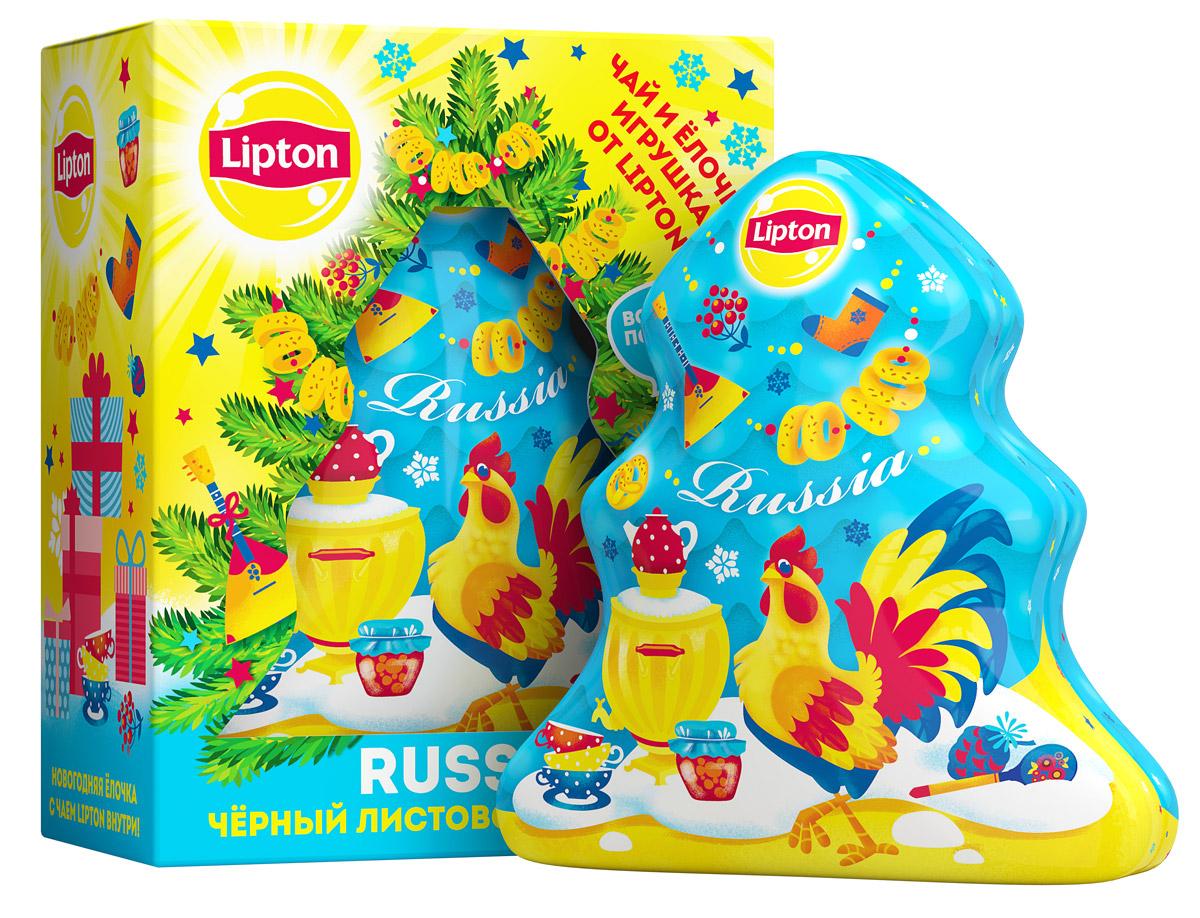 Lipton Новогодняя елочка Петушок чай черный листовой, 20 г8714100712849Черный листовой чай Lipton Новогодняя елочка. Петушок - прекрасный выбор подарка для коллег, друзей и родственников на Новый Год. Изделие представляет собой жестяную лесную красавицу с ароматным чаем внутри. Сувенир можно использовать как новогоднюю игрушку на елку. Такое оригинальное украшение создаст прекрасное настроение в преддверии зимних праздников и придаст любому интерьеру атмосферу уюта и тепла. Насыщенный и натуральный вкус чая подарит минуты гармонии и наслаждения.Всё о чае: сорта, факты, советы по выбору и употреблению. Статья OZON Гид