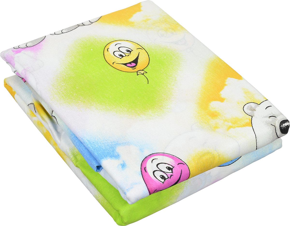 Letto Комплект белья для новорожденных 3 предмета BGR-08