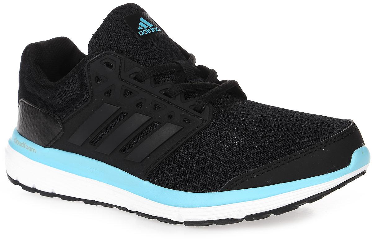 Кроссовки для бега женские adidas Galaxy 3.1, цвет: черный. BA7803. Размер 3,5 (35,5)BA7803Женские кроссовки для бегаadidas Galaxy 3.1 выполнены из сетчатого текстиля и оформлены нашивками из полимера. Шнурки надежно зафиксируют модель на ноге. Внутренняя поверхность из сетчатого текстиля комфортна при движении. Стелька выполнена из легкого ЭВА-материала с поверхностью из текстиля. Подошва изготовлена из высококачественной легкой резины и оснащена технологией Cloudfoam для поглощения ударных нагрузок и комфортной посадки без разнашивания. Поверхность подошвы дополнена рельефным рисунком.