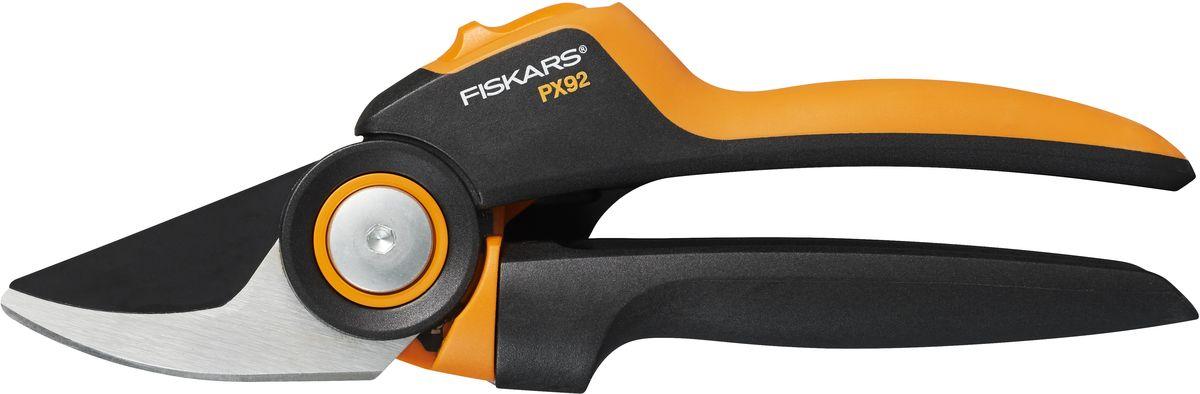 Секатор плоскостной Fiskars PowerGear M PX92 секатор fiskars powergear p 91 111510