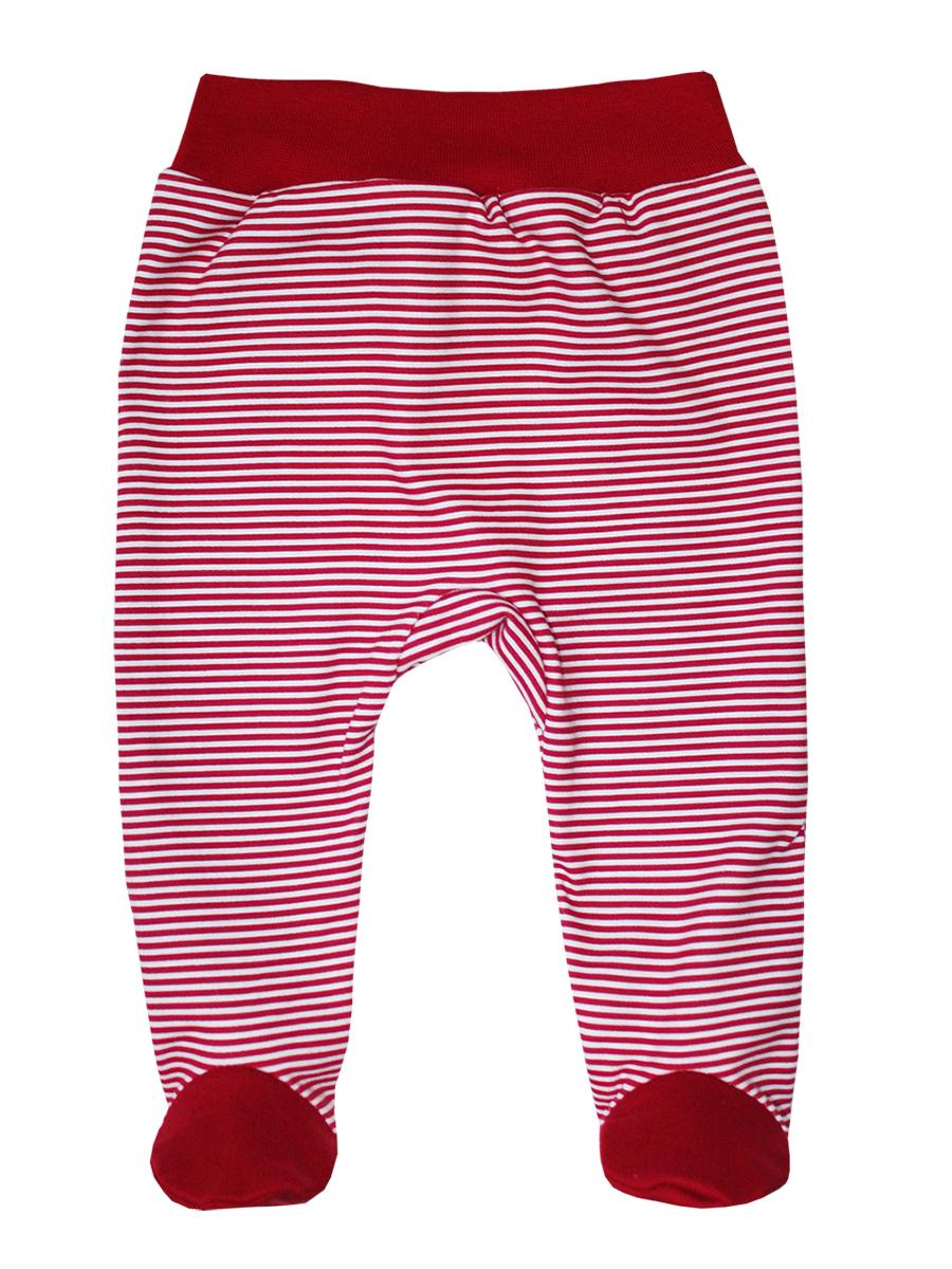 Ползунки для девочки КотМарКот Африка, цвет: красный, белый. 5276. Размер 685276Ползунки для девочки КотМарКот Африка выполнены из натурального хлопка.Ползунки с закрытыми ножками на талии имеют эластичную резинку, благодаря чему не сдавливают животик малышки и не сползают. Модель оформлена принтом в полоску.