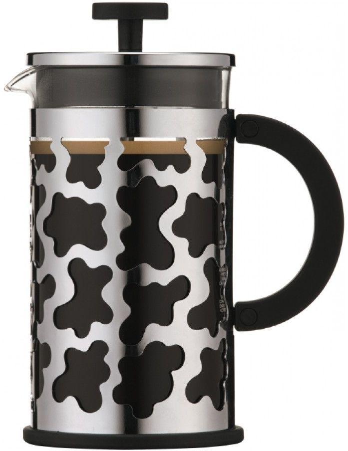Кофейник Bodum Sereno с прессом, цвет: черный, 1 л кофейник bodum brazil с прессом цвет белый 1 л
