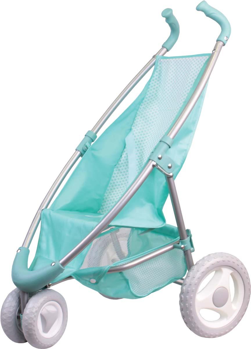 Gulliver Коляска прогулочная для кукол цвет мятный коляска лицом к маме прогулочная купить