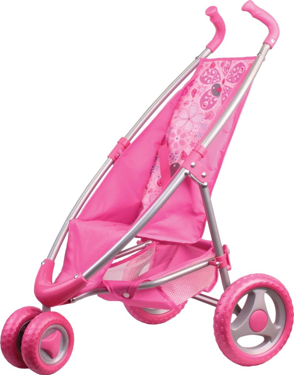 Gulliver Коляска прогулочная для кукол цвет розовый