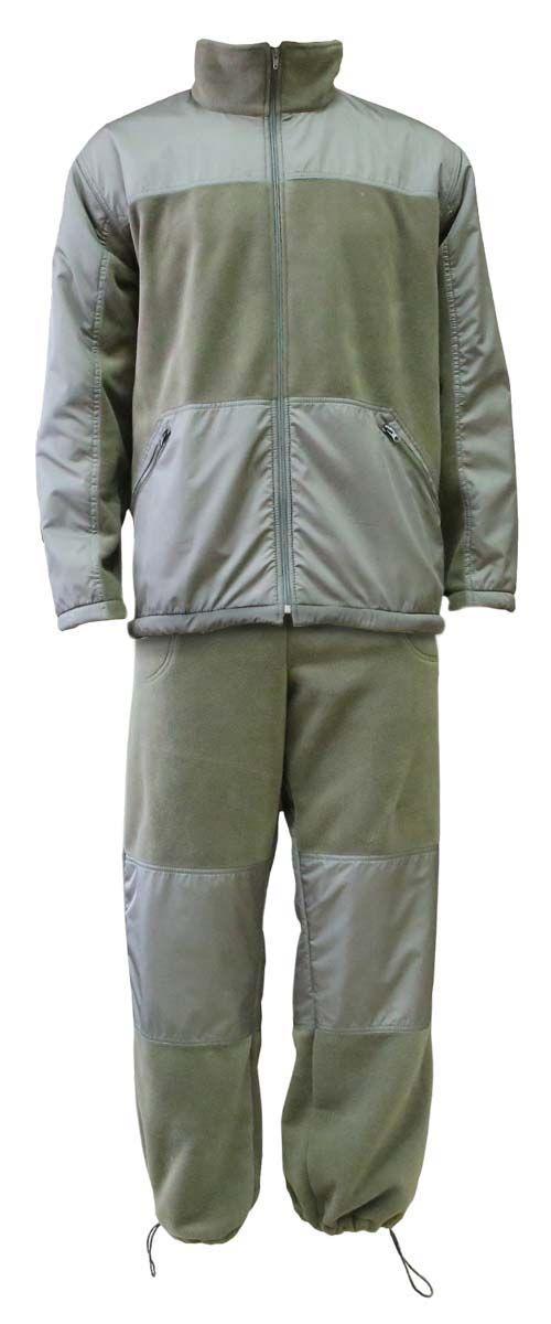 Комплект одежды Vostok Пикник-Люкс: куртка, брюки, цвет: хаки. 62150. Размер 56/58Пикник-ЛюксМягкий, теплый, флисовый костюм Пикник-Люкс. Может использоваться для повседневной носки в прохладную погоду. Подходит как для отдыха на природе, так и для домашней носки. Комбинирование двух тканей разного типа делают этот костюм самостоятельной моделью, которую можно носить в сочетании с другими вещами.Куртка имеет высокий воротник-стойку с утяжкой. Застегивается на молнию, дополнена двумя объемными карманами. Модель оформлена утяжкой по низу. Имеются вставки из ткани Taslan для улучшения внешнего вида и усиленияБрюки прямого кроя с широким поясом на резинке с шнуром–утяжкой. Брюки дополнены двумя карманами по бокам. Регулировка ширины низа брюк. Вставки из ткани Taslan в области колена для усиления.Ткань верха: Polar Fleece 270 г/м2.