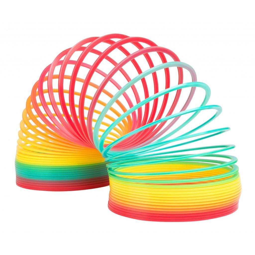 Slinky Антистрессовая игрушка Пружинка Радуга Гигант пружинка слинки металлическая купить