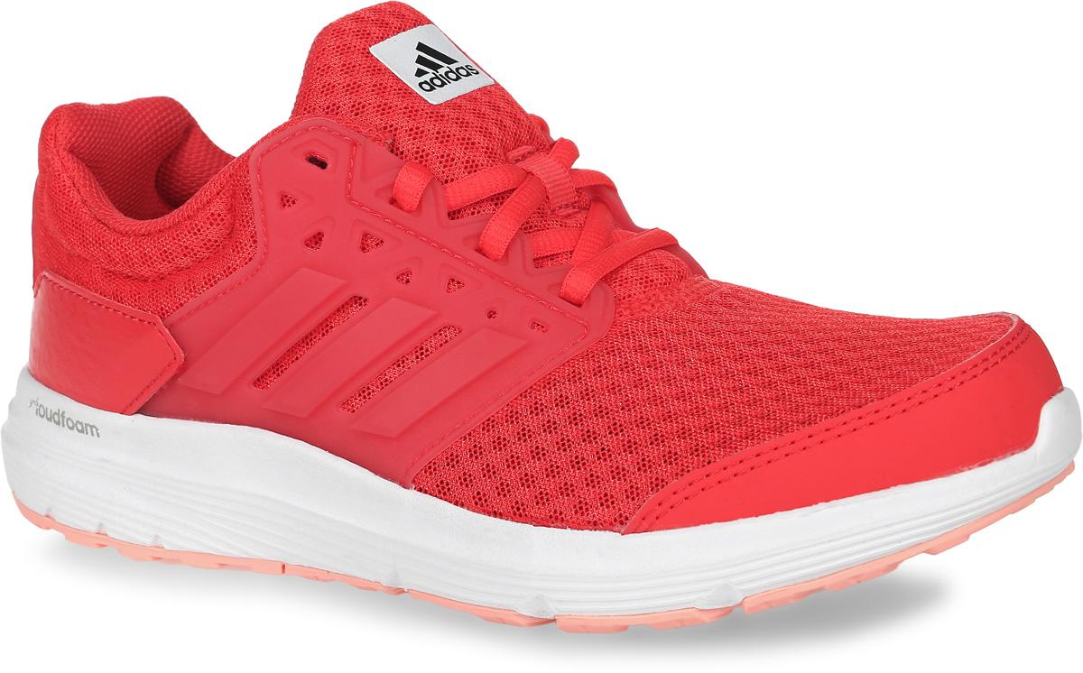 Кроссовки для бега женские adidas Galaxy 3, цвет: ярко-розовый. BB4369. Размер 5,5 (37,5)BB4369Женские кроссовки для бега adidas Galaxy 3, выполненные из сетчатого текстиля, оформлены фирменными нашивками из полимера и искусственной кожи. Шнурки надежно зафиксируют модель на ноге. Внутренняя поверхность из сетчатого текстиля комфортна при движении. Стелька выполнена из легкого ЭВА-материала с поверхностью из текстиля. Подошва изготовлена из высококачественной легкой резины и оснащена технологией Cloudfoam для поглощения ударных нагрузок и комфортной посадки без разнашивания. Поверхность подошвы дополнена рельефным рисунком.